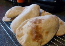Sourdough Pitta Bread